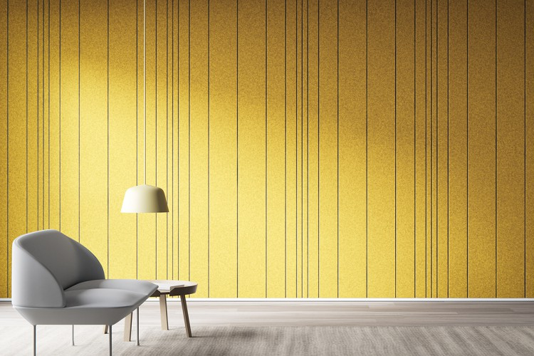 Rille is a Groovy Acoustic Panel System