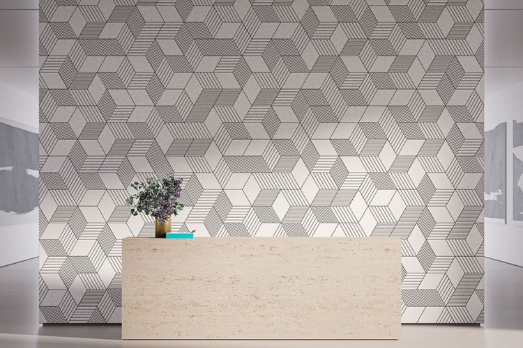 Our Newest Acoustic Wall System is the Bee's Knees