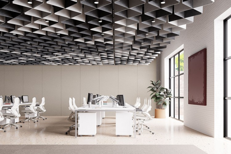 ARO Grid Amps Up the Ceiling Grid